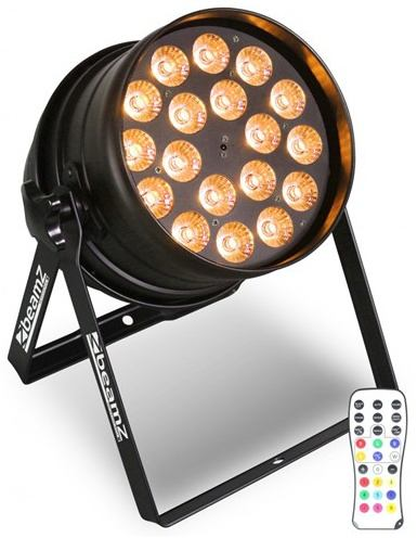 BeamZ LED PAR-64 RGBW