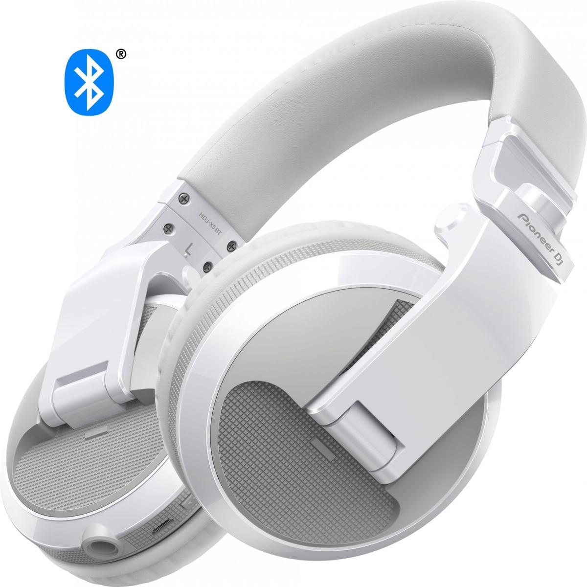 Pioneer DJ HDJ-X5BT Barva: bílá Pioneer DJ