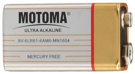 Motoma 9V 6F22 alkalická