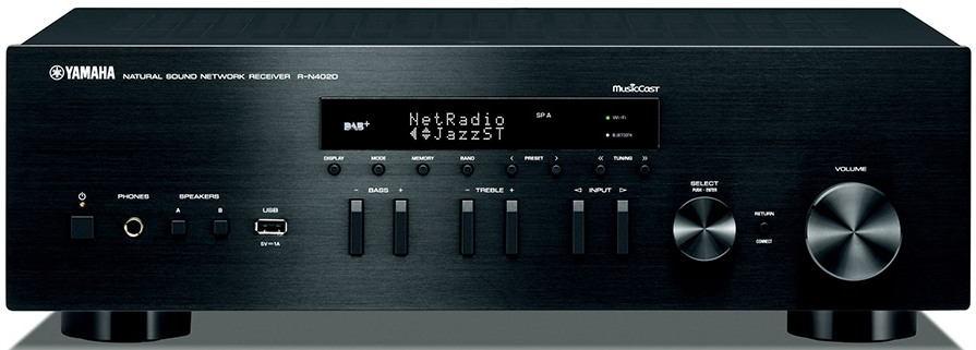 Yamaha R-N402 (D) Barva: černá