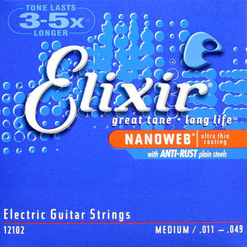 Elixir Electric Nanoweb Tvrdost: 009/042