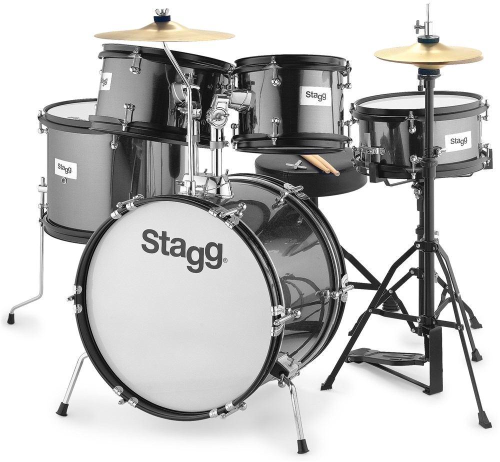 Stagg TIM JR 5/16B Barva: BK (černá)