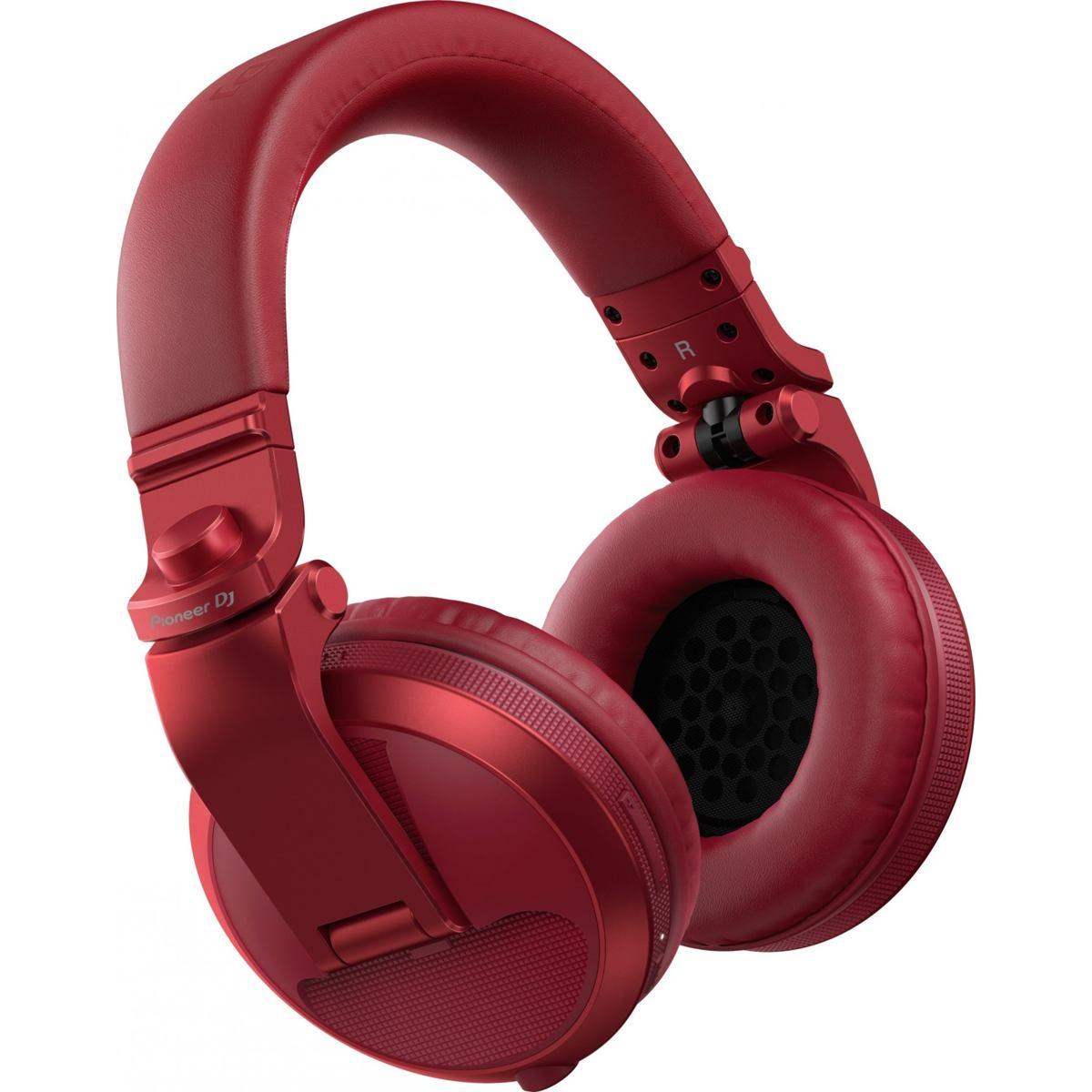 Pioneer DJ HDJ-X5BT Barva: červená Pioneer DJ