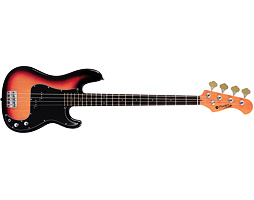 Prodipe Guitars PB80 RA Sunburst