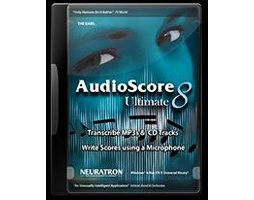 Sibelius AudioScore Ultimate 8