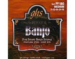 GHS Banjo 5 Stainless Steel