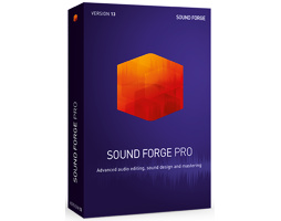 Magix Sound Forge Pro 13