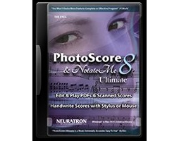 Sibelius Photoscore & NotateMe Ultimate 8
