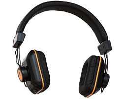 Orange Headphones - Dark Edition